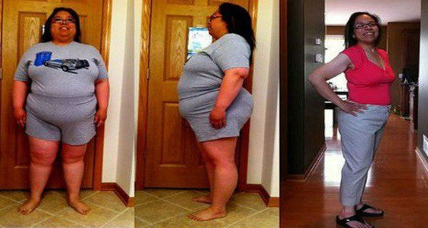 Doctors Are Shocked: This Woman Drank This Potion And Lost Half Her Weight In 3 Months