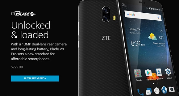 ZTE Blade V8 Pro with 13MP Dual Rear Camera Now on Sale for Php11.4K