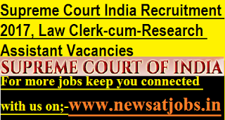 Supreme-Court-India-Law-Clerk-cum-Research-Assistant-Vacancies-2017