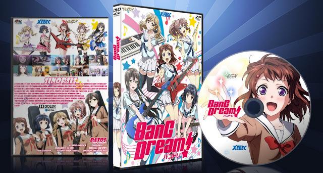 BanG Dream!   Cover DVD  