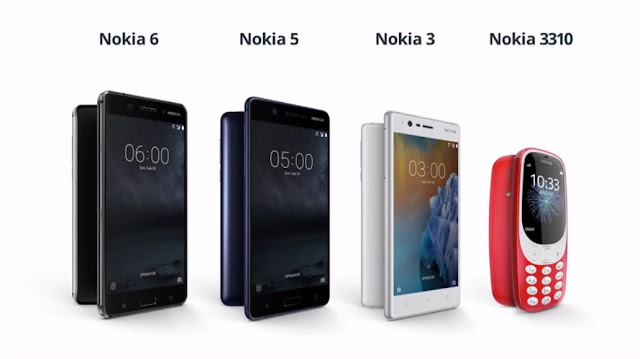Nokia 3310, Nokia 6, Nokia 5, Nokia 3 Philippines