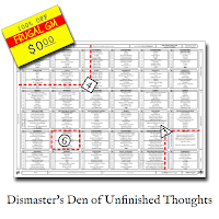 Free GM Resource: Dismaster's Den of Unfinished Thoughts Die Drop Table
