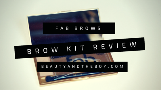 Fab Brows Brow Kit Review