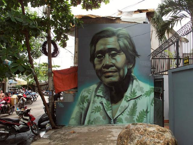 Реалистичные рисунки на стенах. El Mac 16