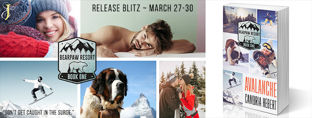 Release Blitz: Avalanche by Cambria Hebert