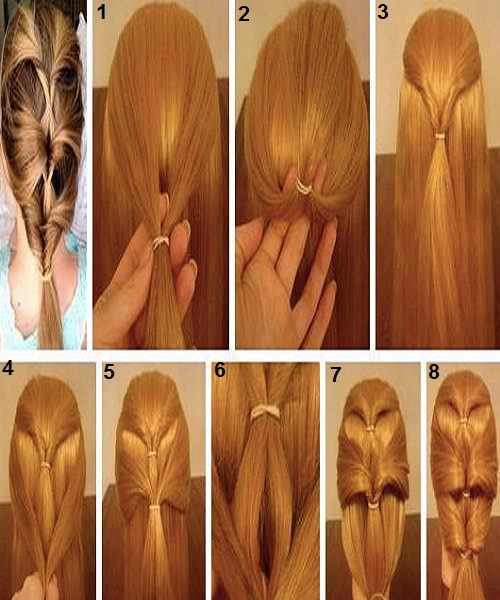 Best And Easy Hair Styles For Eid Parties.