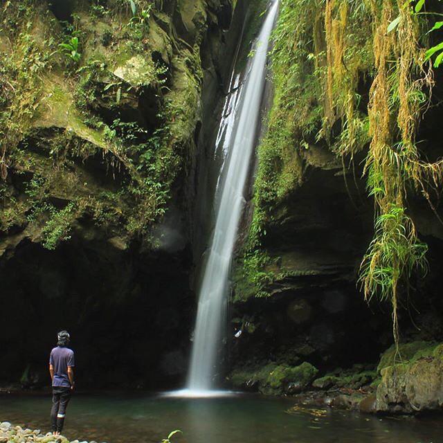 Peta Lokasi Air Terjun Bebet Bebasaq di Lombok