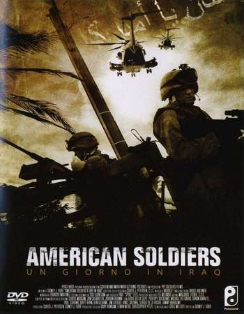 Poster Of American Soldiers 2005 Dual Audio 720p BluRay [Hindi - English] ESubs Free Download Watch Online downloadhub.in