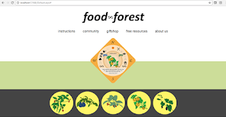 Food Forest Card Game Website