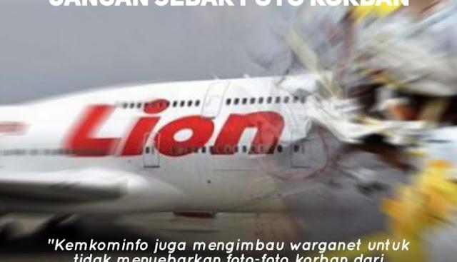Hati-hati Sebar Info Hoaks Insiden Lion Air Bisa Dipidana