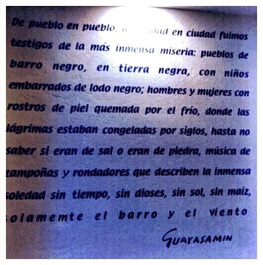 Pintura Frase De Oswaldo Guayasamin