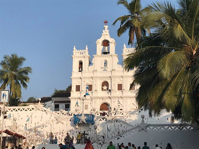 Immaculate Conception Church in Goa