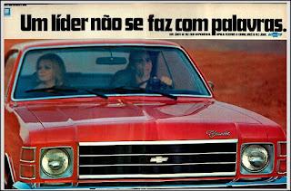 propaganda Chevrolet Opala - 1976, Opala 76, GM anos 70, Chevrolet década de 70, carros Chevrolet anos 70, Oswaldo Hernandez, General Motors do Brasil,