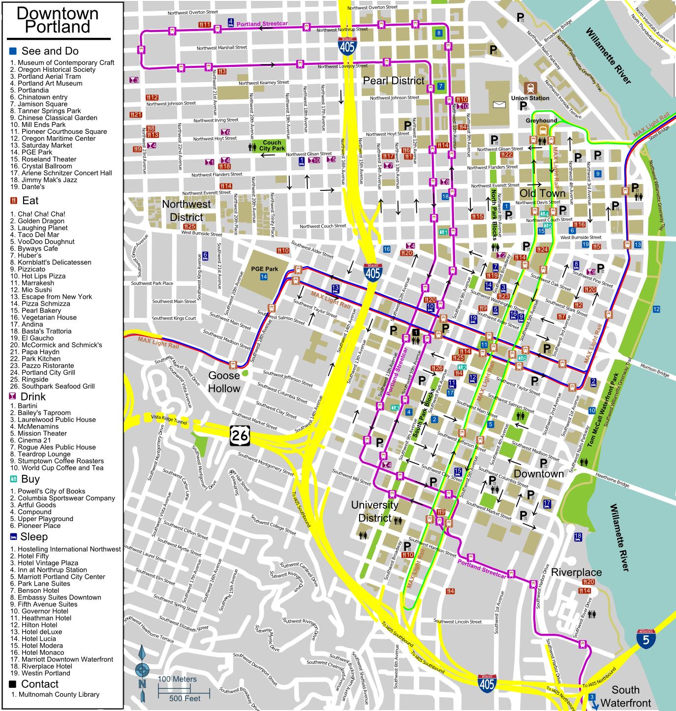 Portland Maps