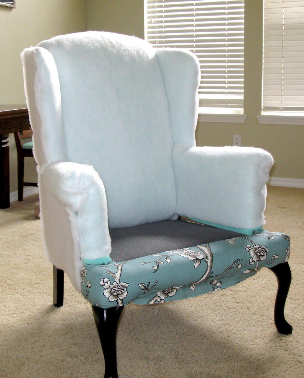 Modest Maven Vintage Blossom Wingback Chair