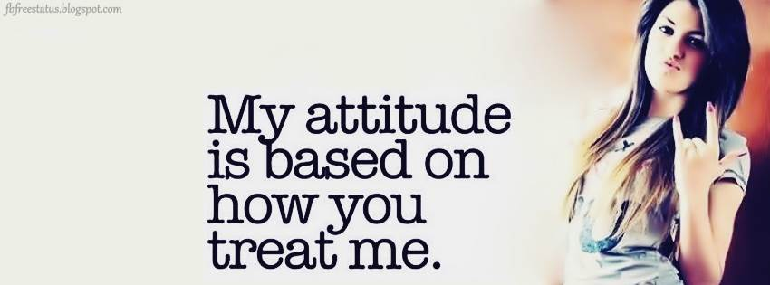 Quotations On Attitude For Facebook Attitude FB Cover Phot...