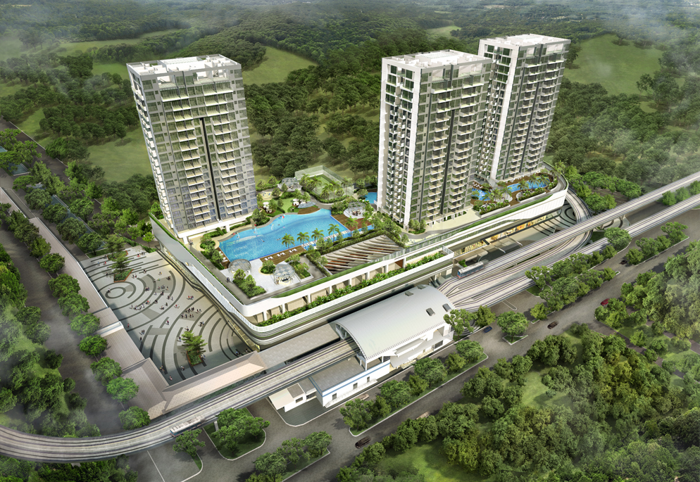Hillion Residences Aerial View
