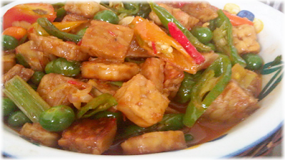 Sweet and Sour Easy Tempeh Recipe
