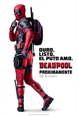 Deadpool 2016 DVD R1 NTSC Latino