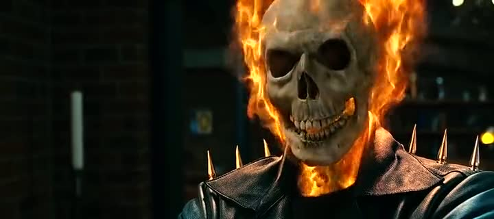 Screen Shot Of Ghost Rider Movie 1 And 2 Spirit of Vengeance Dual Audio Movie 300MB small Size PC Movie