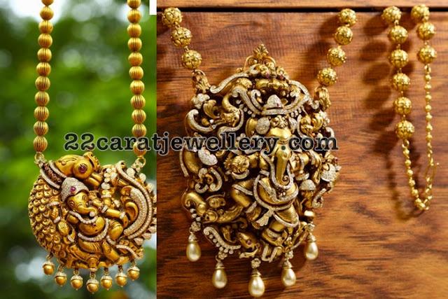 Nakshi work Ganesh Loackets