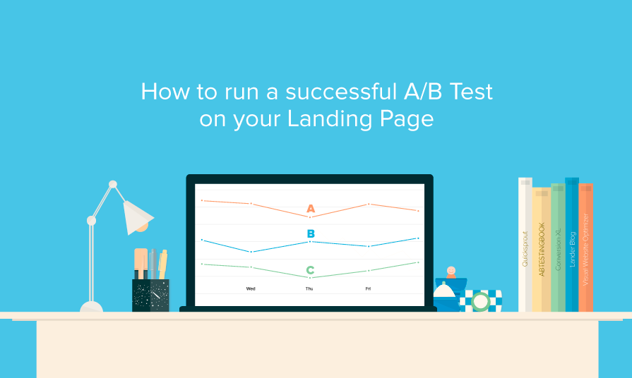 How to run a successful A/B test on your landing page
