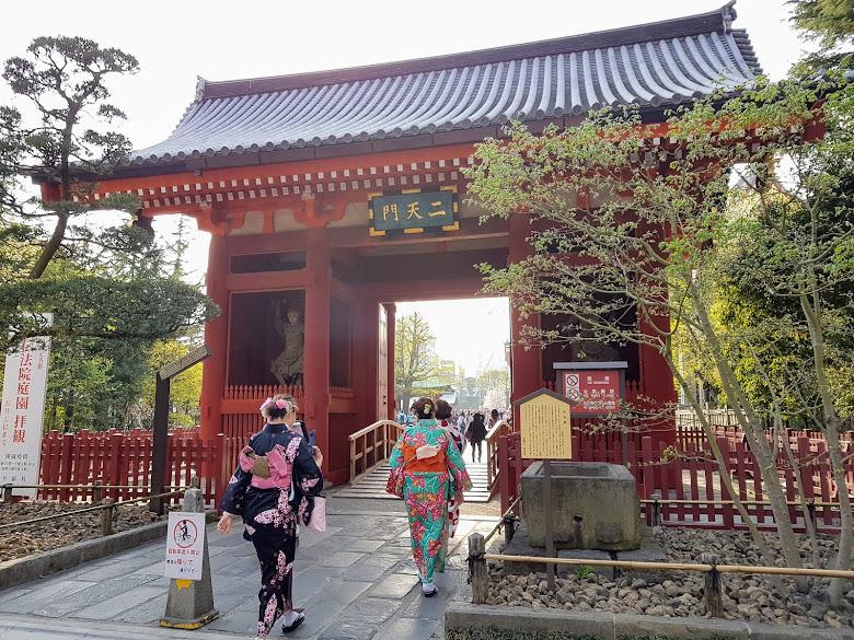 淺草寺的二天門