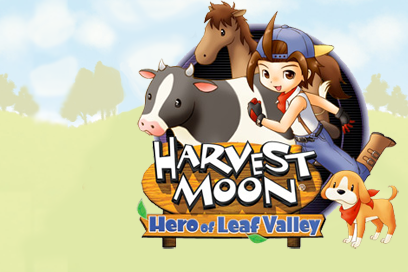 Save Game Harvestmoon Hero of leaf valley Complete
