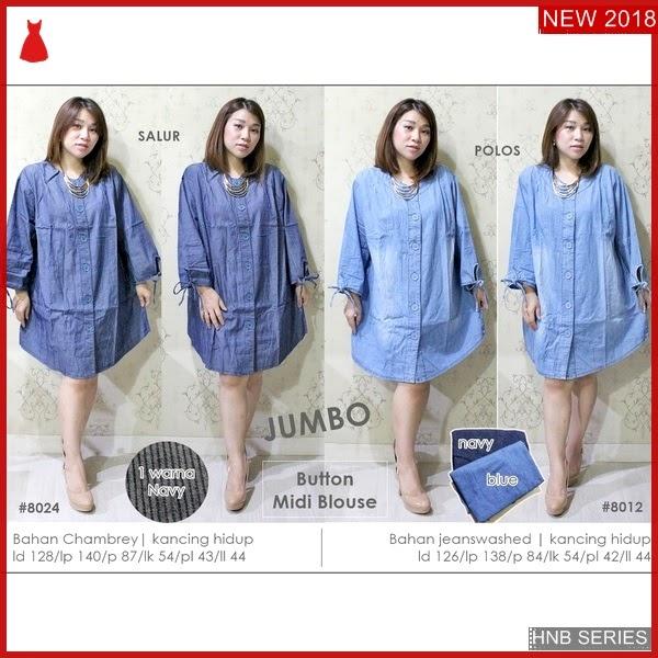 HNB240 Joyce Dress Ukuran Besar Jumbo Modis BMG Shop