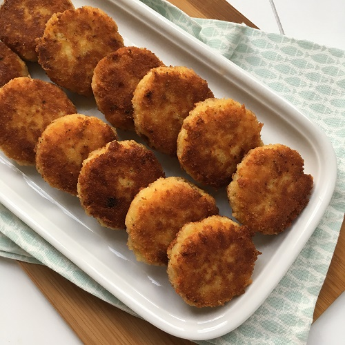 [Resteküche] Kartoffeln ~ knusperkrosse Kartoffeltaler