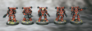Forge World Mk. III converted Legion Destroyers - Horus Heresy (30K) Blood Angels