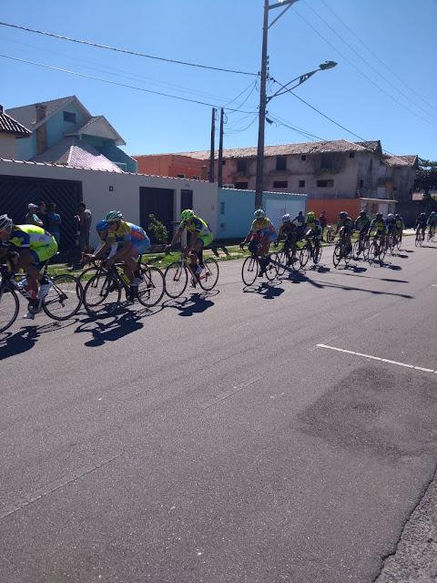 Equipe registrense se destaca na 1ª etapa da Copa Litoral de Ciclismo Amador