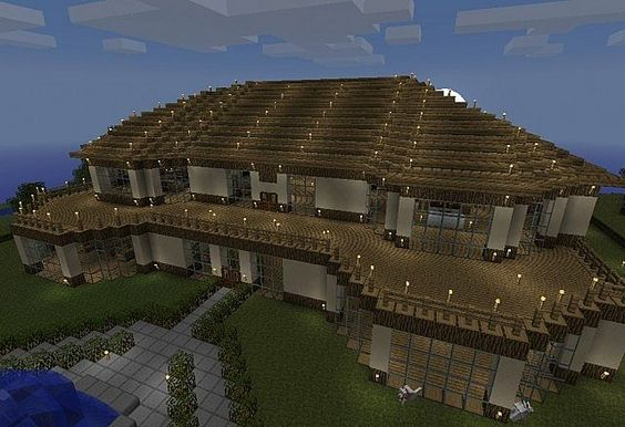 Cool things to build in minecraft xbox 360 xbox one for Things to include when building a house