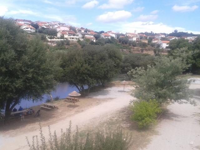 Rio Dão em Ferreirós do Dão