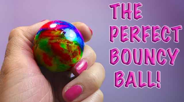 घर पर बाउंसी पॉलीमर बॉल कैसे बनायें