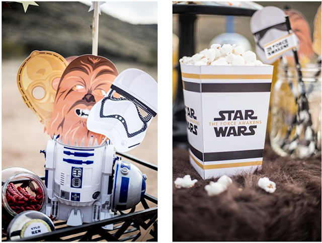 Fiesta de Star Wars: Kit para Imprimir Gratis