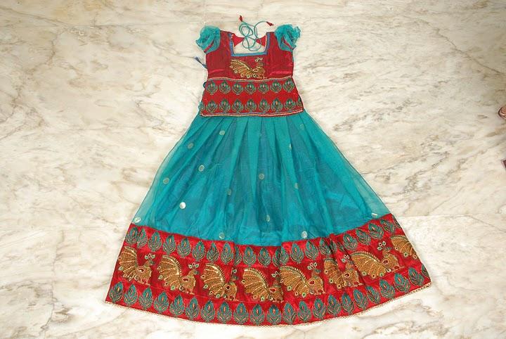 2b91342680d6b Exclusive langa blouse designs for kids