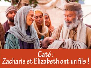 zacharie et elisabeth vont avoir un fils