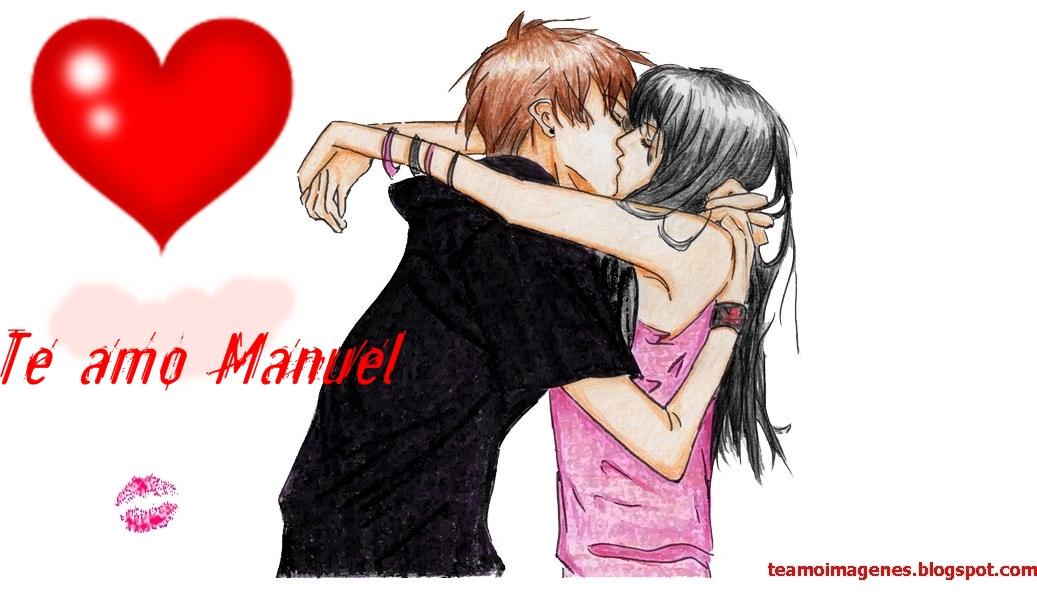 Las mejor imagen te amo manuel, teamoimagenes.com