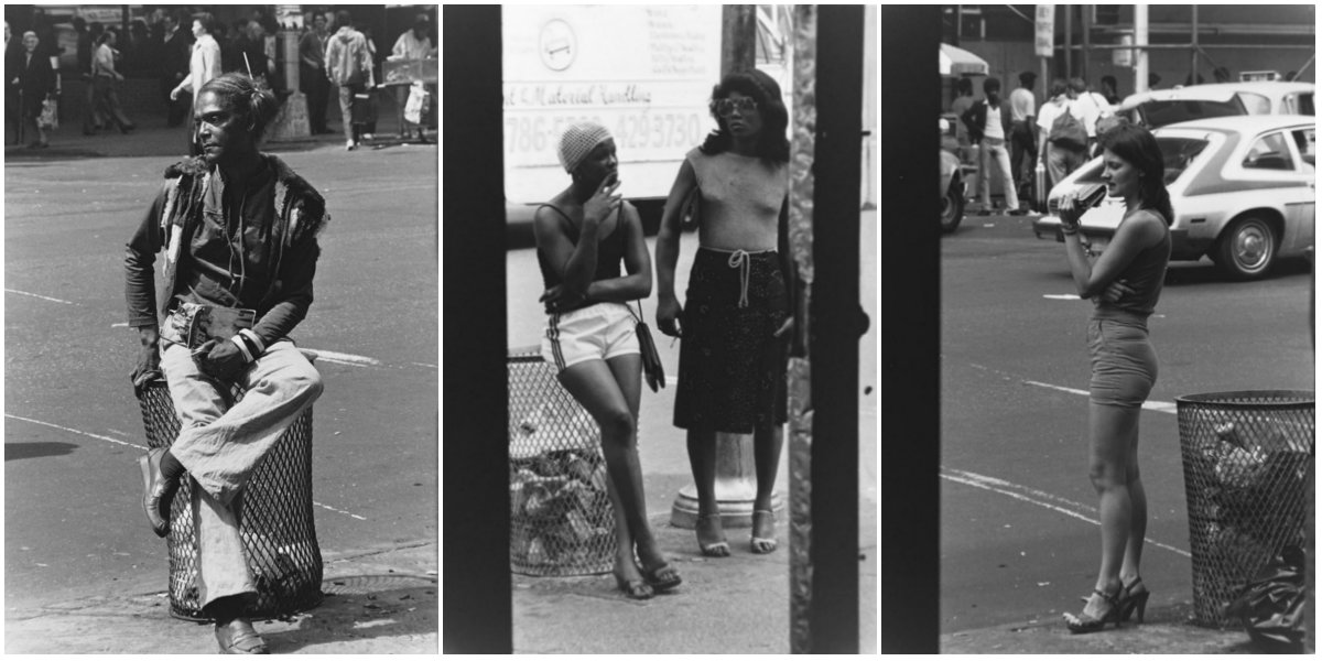 Pictures of Pimps, Prostitutes and Homeless of 1970s Times Square Through a Bartender's Camera