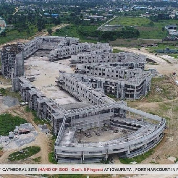 Checkout Another World Biggest Church Auditorium going on in Nigeria
