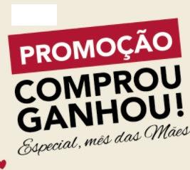 Promoção Rede Uze 2017 Mês das Mães Comprou Ganhou