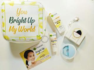 garnier bright up paket