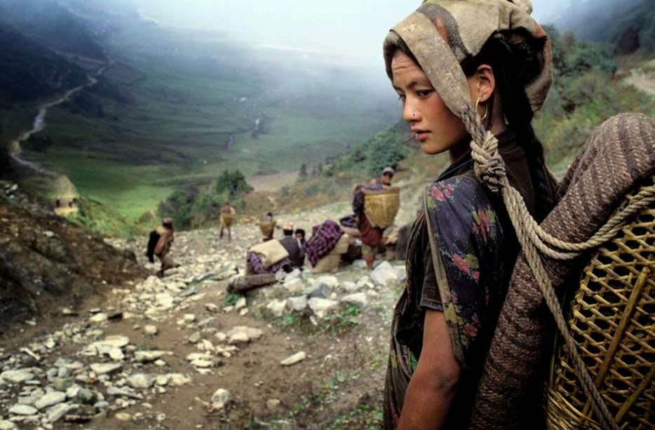 Bruno Morandi captures a tribal Chhetri woman in Nepal. [2009] - The 63 Most Powerful Photos Ever Taken That Perfectly Capture The Human Experience