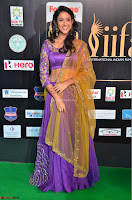 Priya Sri in Purple Choli Stunning Beauty at IIFA Utsavam Awards 2017  Day 2 at  29.JPG