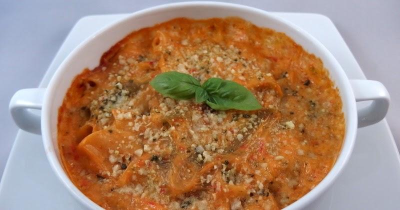Pasta alle verdure gratinata