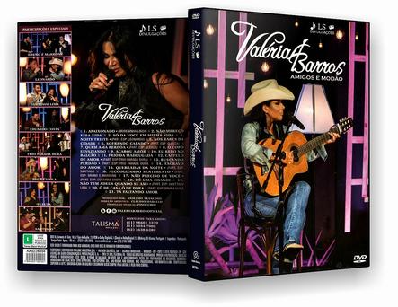 CAPA DVD – VALERIA BARROS AMIGOS E MODAO – ISO