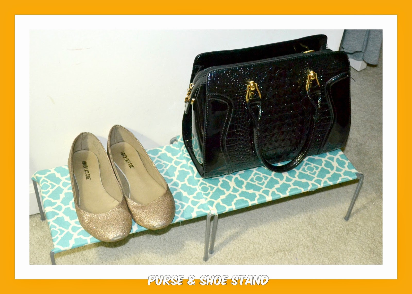 Project Beautiful Life Diy Purse Shoe Stand