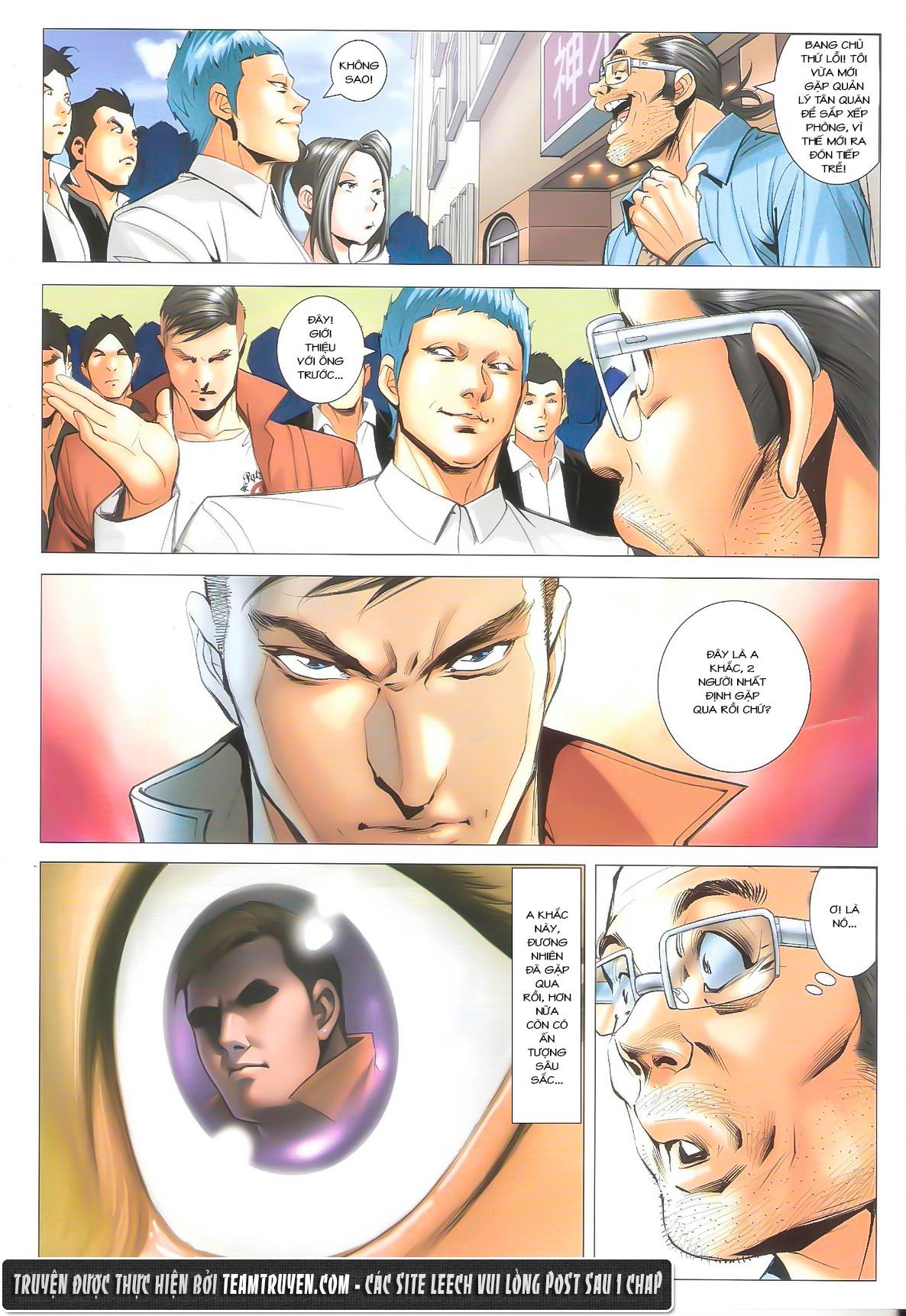 Người Trong Giang Hồ chapter 1612: thần nhân tương ngộ trang 5