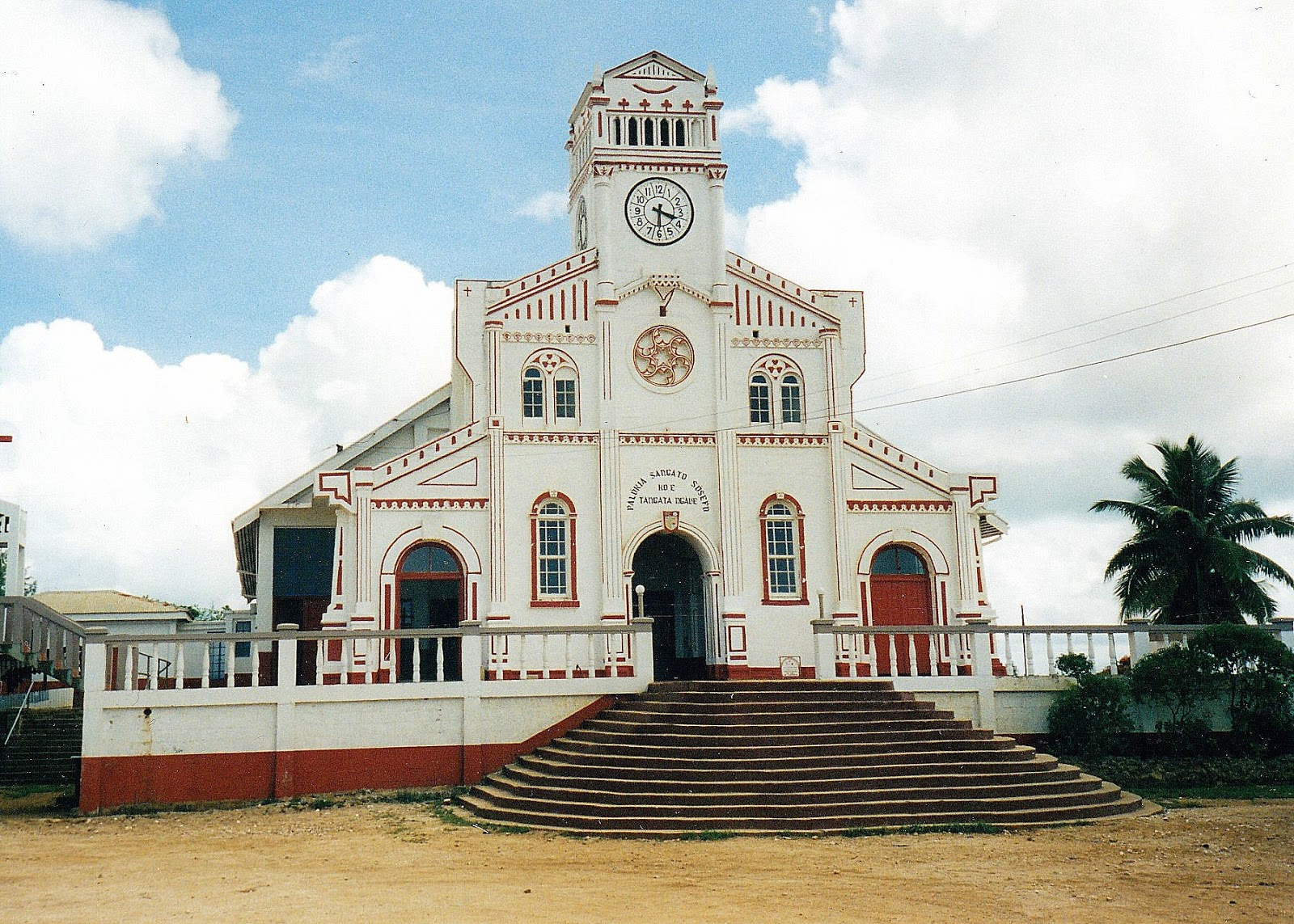 Tonga has some interesting designs of churches